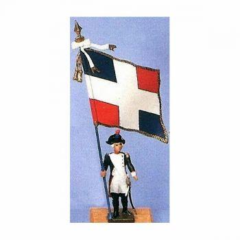 drapeau du bataillon de Sainte-Marguerite