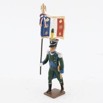 drapeau de l'infanterie légère italienne (1810)
