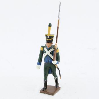 fantassin de l' infanterie légère italienne (1810)