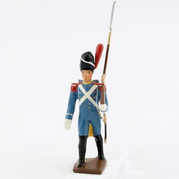 fantassin du 1er régiment d'isenburg (1806)
