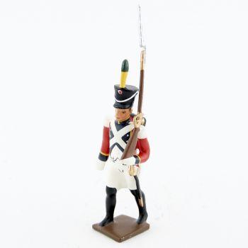 fantassin du 4e régiment suisse (1812)
