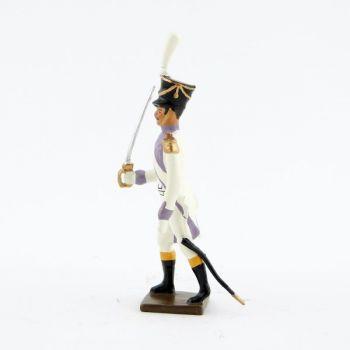 officier des voltigeurs du 33ème de ligne (1806)