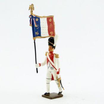 drapeau du 3e rgt de grenadiers de la garde (ex-hollandais) (1812)