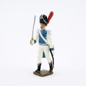 officier des grenadiers de Clèves et de Berg (1812)