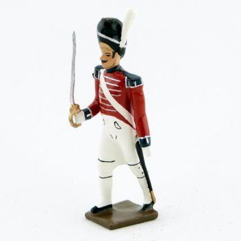 officier du 1er rgt de grenadiers anglais (1813)