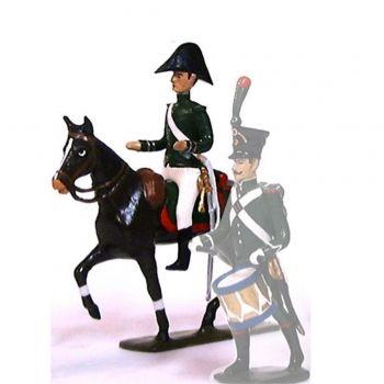 contrôleur de brigade des Douanes à cheval (1807)