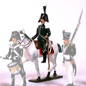 brigadier des Douanes à cheval (1812)