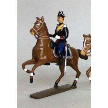 officier des gendarmes à cheval (iiie rép.)