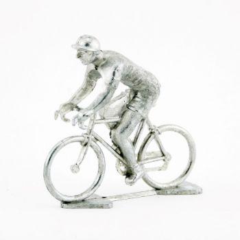 cycliste en Zamac brut (non ébarbé, non peint)