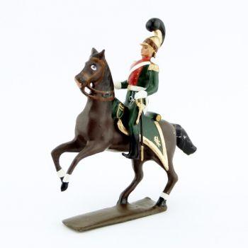 officier des chevau-léger 1er rgt (plastron écarlate) (1812)