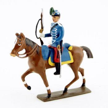 cavalier des hussards 1914