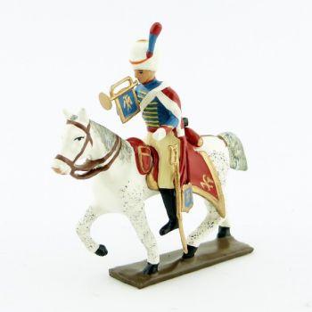 trompette (d'ordonnance) des chasseurs de la garde à cheval (1809)