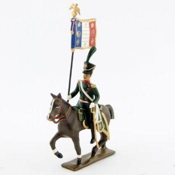 etendard des chasseurs à cheval de la ligne (1809)