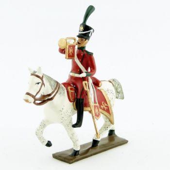 trompette (d'ordonnance) des chasseurs à cheval de la ligne (1809)