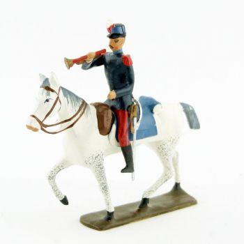 trompette des saint-cyriens à cheval