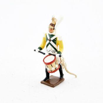 tambour (d'ordonnance) des dragons de la garde (dragons jaunes) (1812)