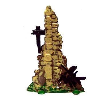 pan de mur en ruines (haut)