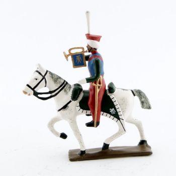 trompette (d'ordonnance) des mameluks à cheval (1810)