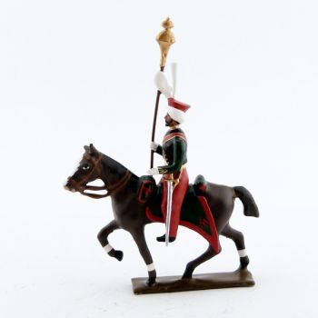 porte-toug des mameluks à cheval (1810)