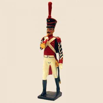 """clairon (d'ordonnance) du bataillon de neuchâtel (tenue """"orange"""", ancienne version)"""