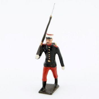 fantassin du régiment espagnol 1880