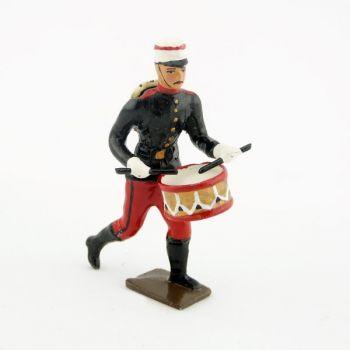 tambour du régiment espagnol à l'assaut 1880