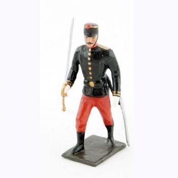 officier de l'infanterie de ligne espagnole