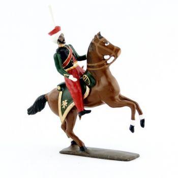 officier des mameluks à cheval (1810)