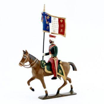 etendard des mameluks à cheval (1810)