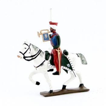 trompette des mameluks à cheval (1810)