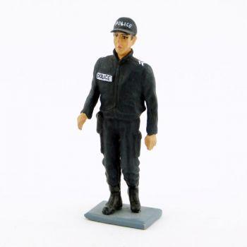 Policier (Gardien de la Paix) contemporain en blouson et casquette
