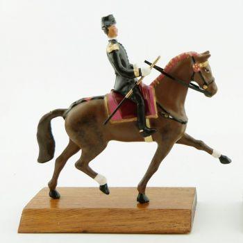 cavalier du Cadre Noir, grand modèle (h. 85 mm)