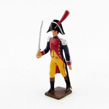 officier de gendarmerie imperiale (en bicorne) (1803)
