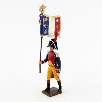 drapeau de gendarmerie imperiale (en bicorne) (1803)