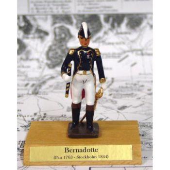 maréchal Bernadotte sur socle bois