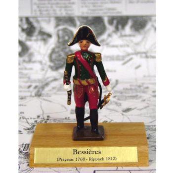maréchal Bessieres sur socle bois