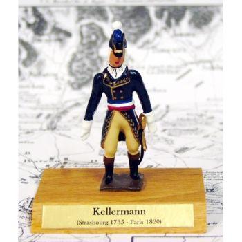 maréchal Kellerman sur socle bois