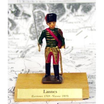 maréchal Lannes sur socle bois