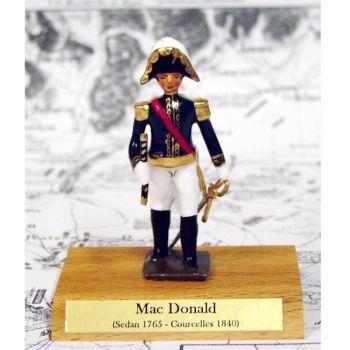 maréchal Macdonald sur socle bois