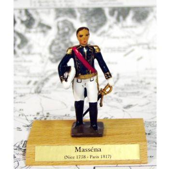 maréchal Massena sur socle bois