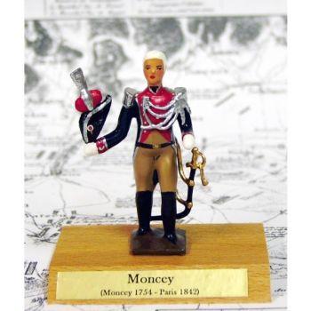 maréchal Moncey sur socle bois