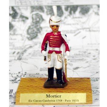 maréchal Mortier sur socle bois