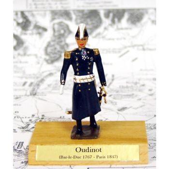 maréchal Oudinot sur socle bois