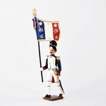 porte-drapeau des grenadiers de la garde (1812)
