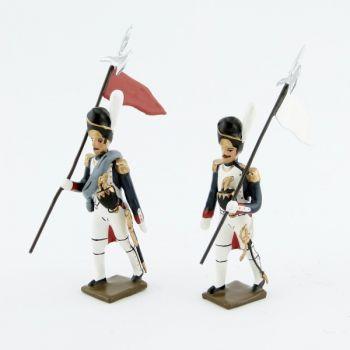 2e et 3e porte-aigles des grenadiers de la garde (1812)