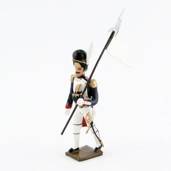 3e porte-aigle des grenadiers de la garde (1812)