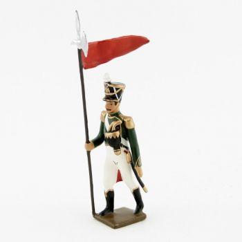 2e porte-aigle des flanqueurs-grenadiers de la garde (1813)