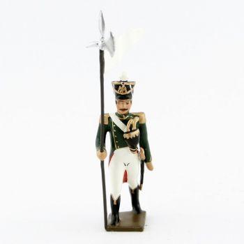 3e porte-aigle des flanqueurs-grenadiers de la garde (1813)