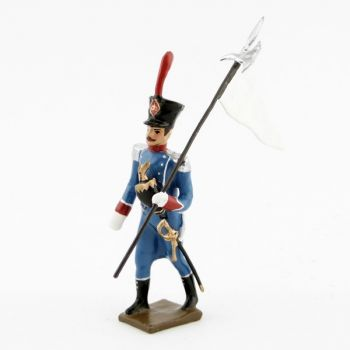3e porte-aigle des voltigeurs d'infanterie légère (1809)