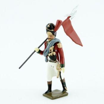 2e porte-aigle du 2e régiment de la Garde de Paris (1803-1809)